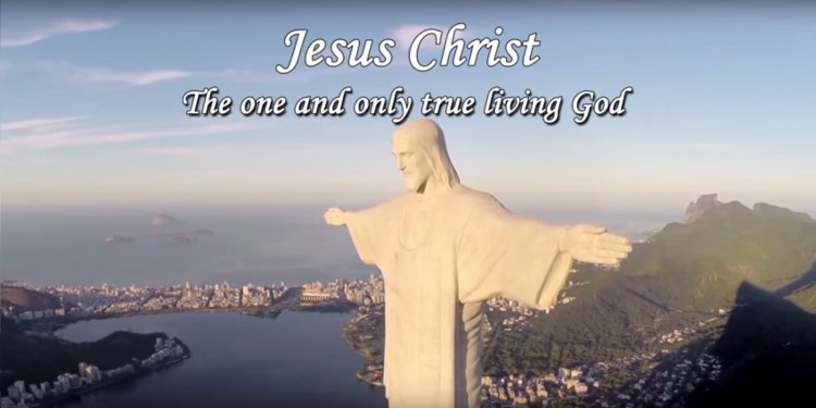 Jesus Christ - The one and only true living God