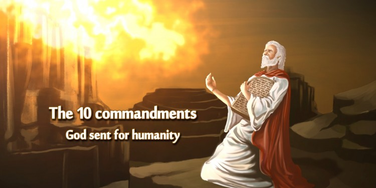 10 commandments from Bible