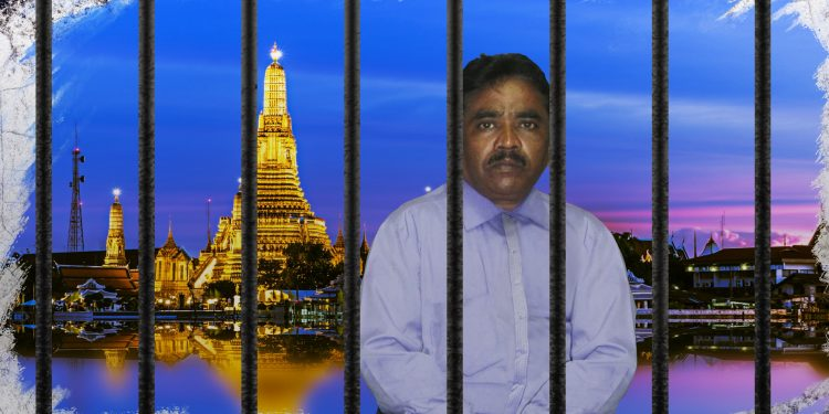 A Pakistani Christian on the verge of death in Bangkok´s immigration detention center