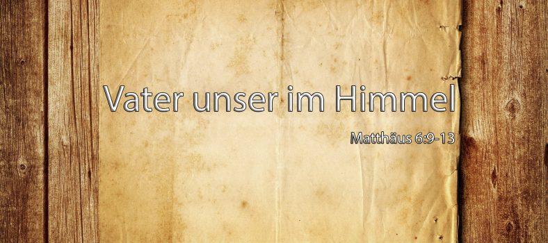 Das Vaterunser-Gebet - Jesus Christus für Muslime