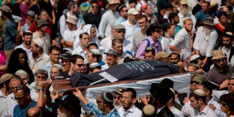 Another Funeral for the Slain - Radical Islamic Terorism in Israel