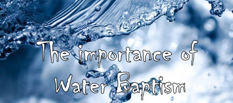 Importance of Water Baptism - Pastor David Michael Santiago - International Church Madrid