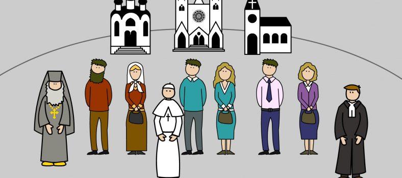 مسیحیت میں طبقے مسیح کے گرجاگھروں کی تقسیم - مسیحیوں کا اتحاد - گرجاگھر