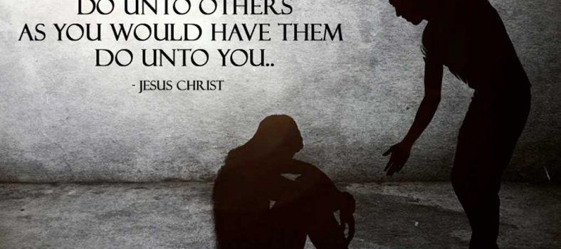 Lakukanlah kepada orang lain sebagaimana anda ingin mereka melakukannya kepada anda