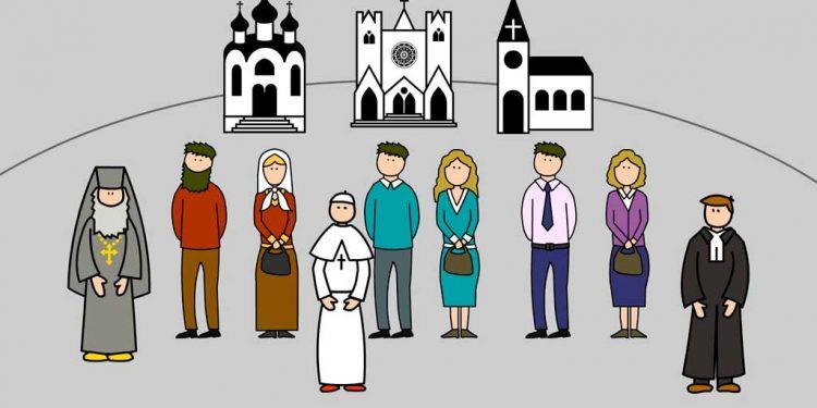 Bagian dalam Kekristenan - Membagi Gereja Kristus