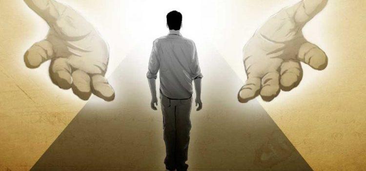 Lihat, tangan Tuhan tidak terlalu pendek untuk menyelamatkanmu