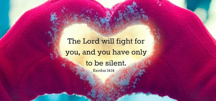 Tuhan berperang untukmu - Renungan Harian Kristen