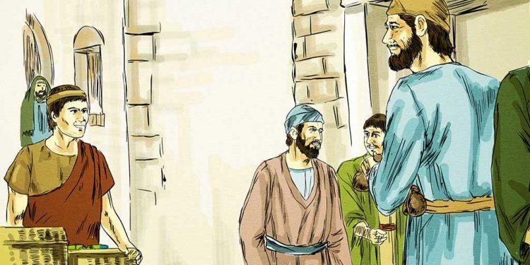 تین نوکروں کی تمثیل - خداوند کا پاک کلام - خداوند کی سچی نصیحت - خداوند کی گندم کے توڑے