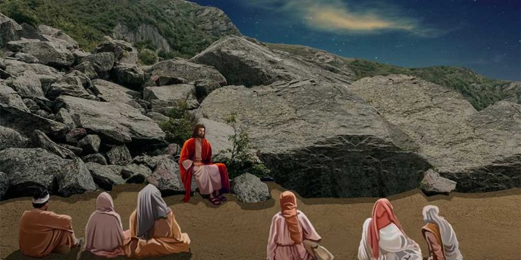 پوشِیدگی میں دُعا - پہاڑی پر یسوع کی تعلیم - خُدا کی بادشاہی اور قُدرت