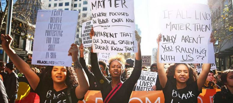 All lives matter - Black Lives Matter - Voice for Justice UK